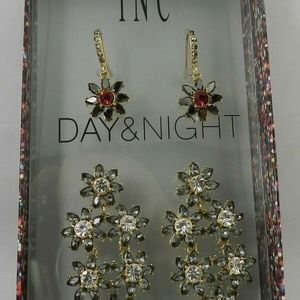 INC International Concepts   Day & Night  Earrings